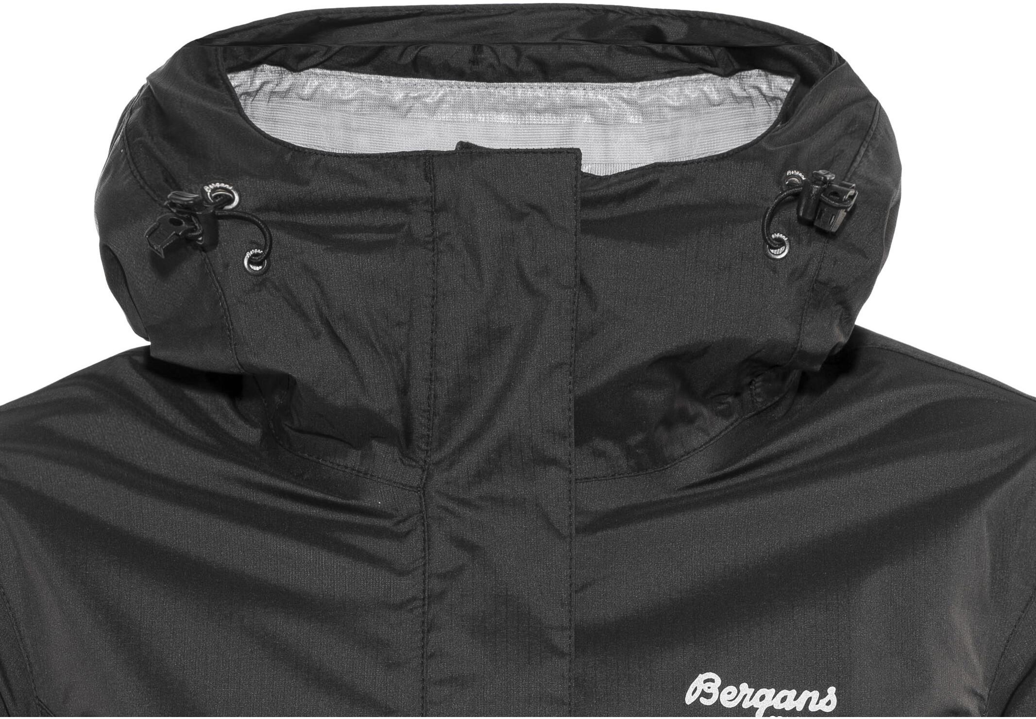 bc95a38d Bergans Super Lett Jacket Women black at Addnature.co.uk